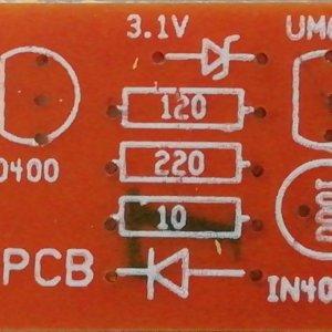 UM66 Music Circuit PCB (12VDC)