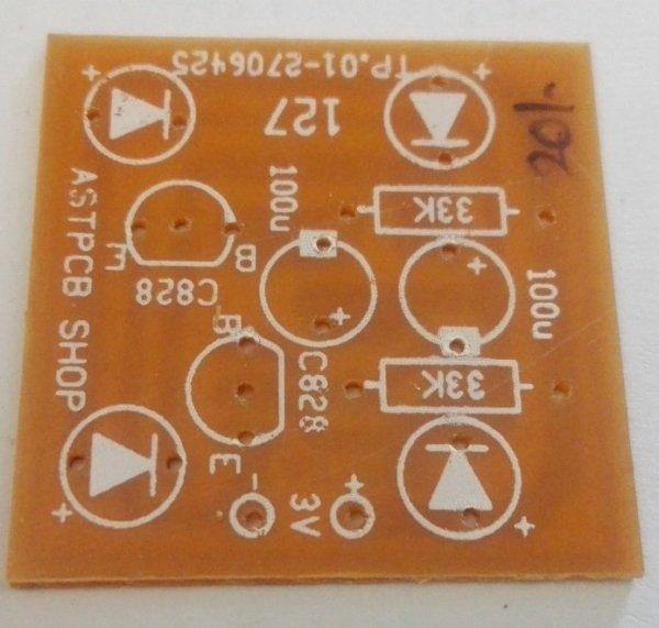Multi-vibrator (4 LED ) PCB (3VDC)