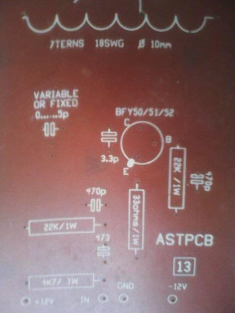 FM Transmitter with coil (1Km Range)