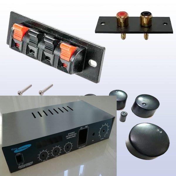 200W Stereo Amplifier C3281 (100W+100W) Kit DIY Complete Set