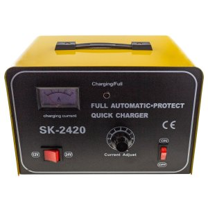 12V/24V 15A Automatic Battery charger (SK-2420)
