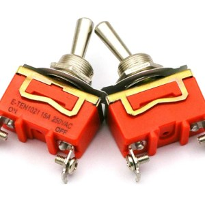2 Pin Toggle switch ON/OFF 15A 250VAC (Large)