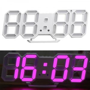 3D Led Digital Alarm Clock Time, Date, Temperature, Auto Brightness adjust