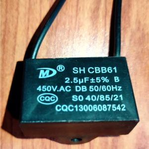 2.5uF 450Vac Box Capacitor