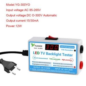 Back Light Tester 300VDC (Auto)