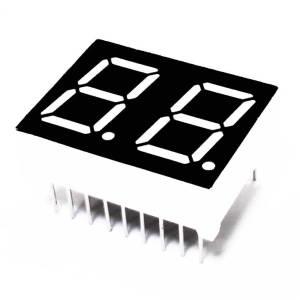 2 Digit 0.56 inch 7 segment Display (Common Cathode Red)