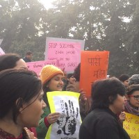 Near India Gate, A Blocked Protest: notes on my city