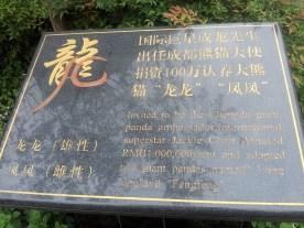 Jackie Chan, Panda House, Chengdu ,Sichuan, China