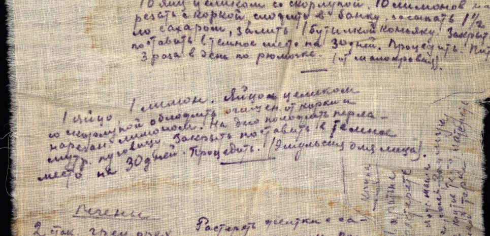 Vera Bekzadian Notebook (gulag Potma)