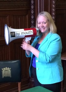 Cathy Jamieson MP launches our event at Westminster