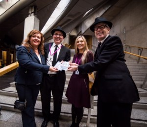 We've taken our campaign to the corridors of power in Edinburgh and London