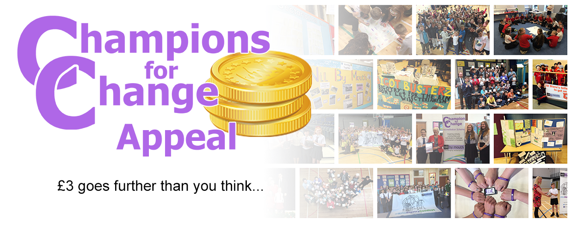 Champions for Change Appeal