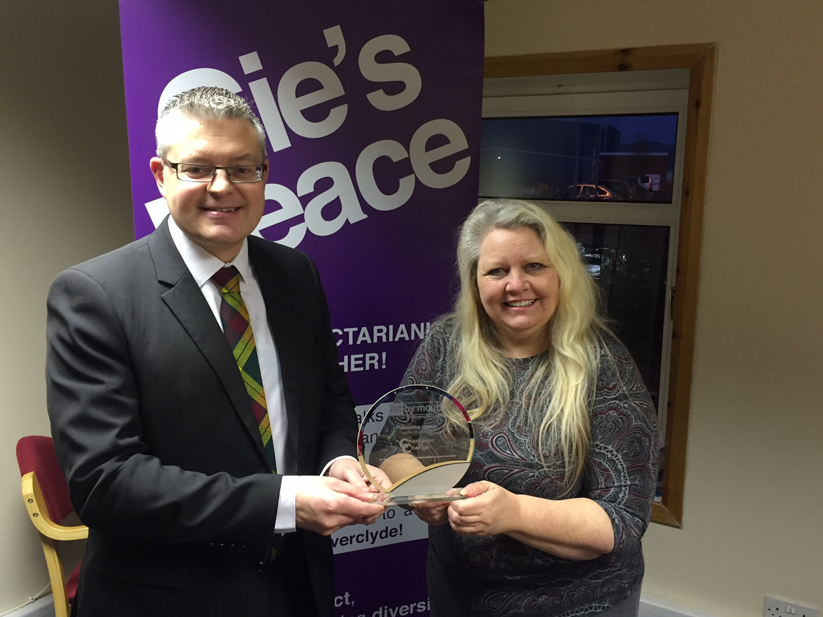 Inverclyde Woman a Champion for Change