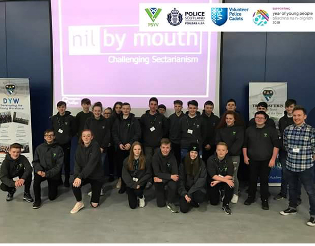 Police Cadets Stand Up To Sectarianism