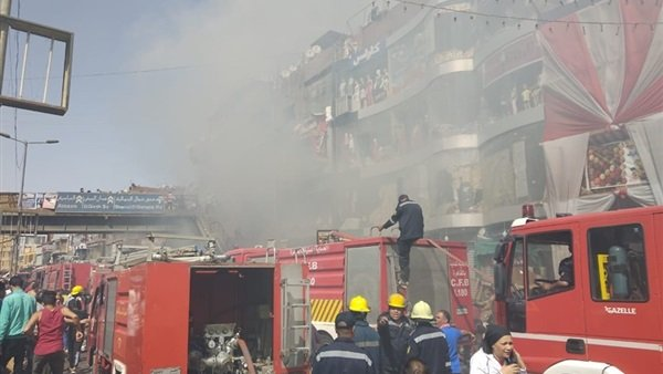 اخماد حريق بالموسكي دون إصابات أو وفيات