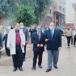 محافظ القاهرة يتابع إجراءات استقبال المرضى في  «حميات وصدر العباسية»