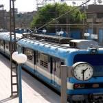 «مترو الأنفاق» تنفي توقف حركة القطارات بالخط الأول لسوء الأحوال الجوية