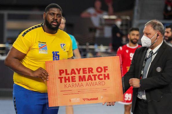 «مونديال اليد 2021» |  «العملاق» مفومبي رجل مباراة الكونغو والبحرين