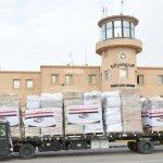 مصر ترسل طائرة مساعدات طبية للمملكة الأردنية الهاشمية