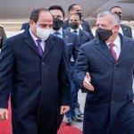 مراسم استقبال رسمية للرئيس السيسي في المملكة الأردنية