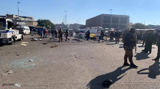 حصيلة نهائية لتفجير بغداد: 28 قتيلاً و88 مصاباً