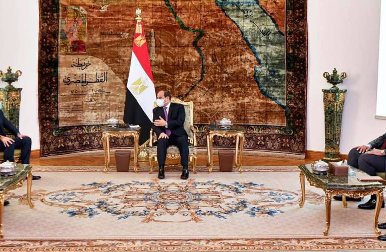 «السيسي»: حريصون على إخراج لبنان من حالته