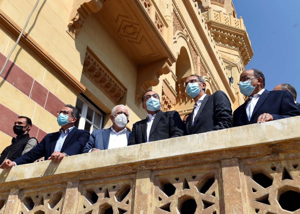 «رئيس الوزراء» يتفقد مشروع ترميم وإحياء قصر السلطان حسين كامل