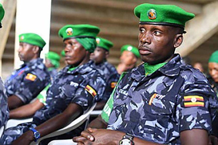 Image result for Uganda Police  Police arrest 43-year-old man for killing son over pieces of meat police exam