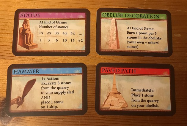 The various market cards available