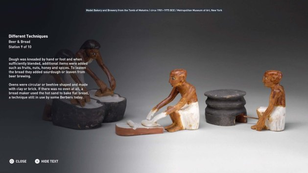 The well-known tomb models of Meketre's Tomb from the            Middle Kingdom (author's photo)