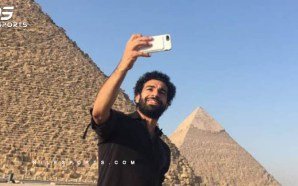Mohamed Salah in England to undergo medical at Liverpool