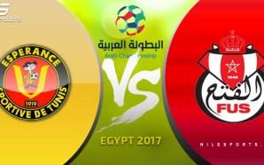 LIVE: Esperance (Tunisia) v FUS Rabat (Morocco) | Arab Championship…