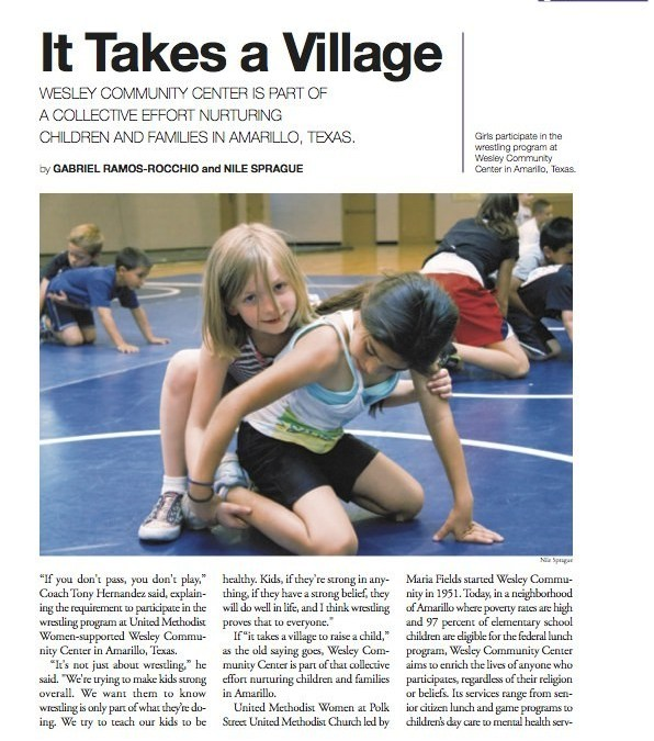 Magazine Article: It Takes A Village