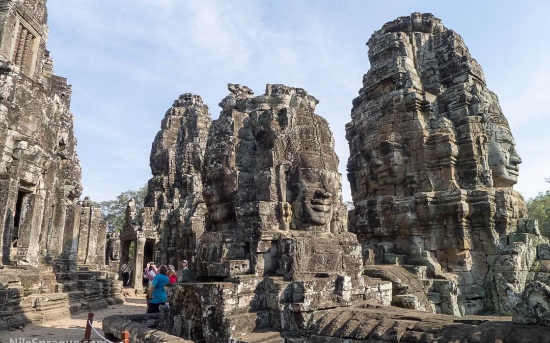 Photos: Bayon & Angkor Thom, Siem Reap, Cambodia