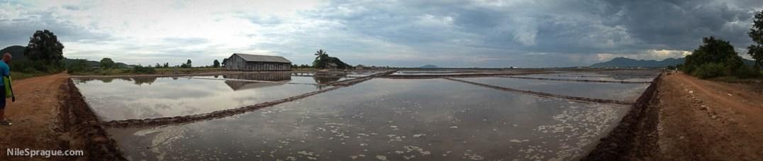 Salt flats, Kep, Kamot