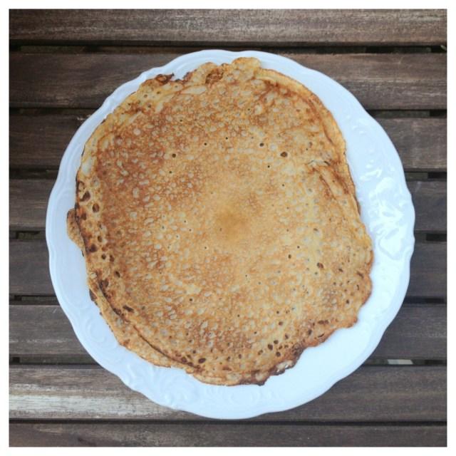 äggfria, glutenfria och mjölkfria pannkakor