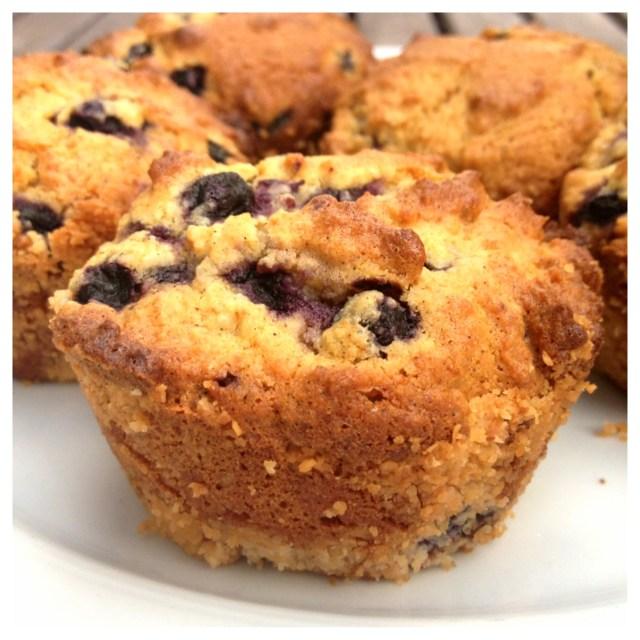 Blåbärs & kokosmuffins (mjöl, mjölk, socker & nötfria)5