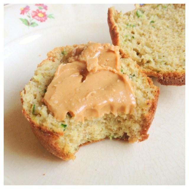 Zucchinimuffins med kardemumma (glutenfria, mjölkfria, sockerfria)