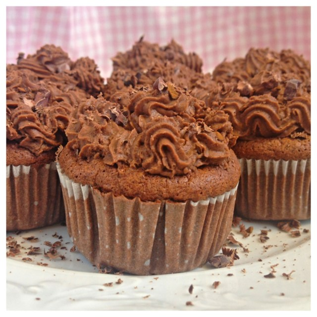 Coffee cupcakes (gluten-free, dairy-free, sugar-free)