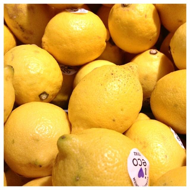 citroner ekologiska