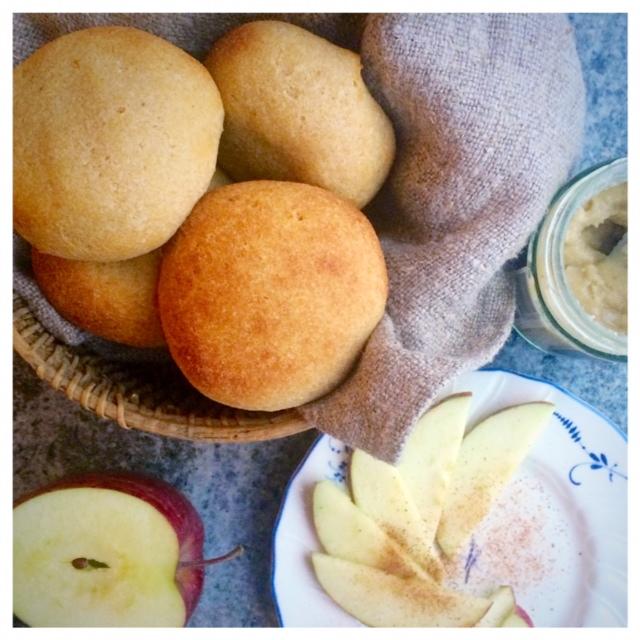 Detox-scones glutenfritt, vegan