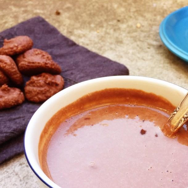 varm choklad, cashewchoklad (vegan, mjölkfri)1