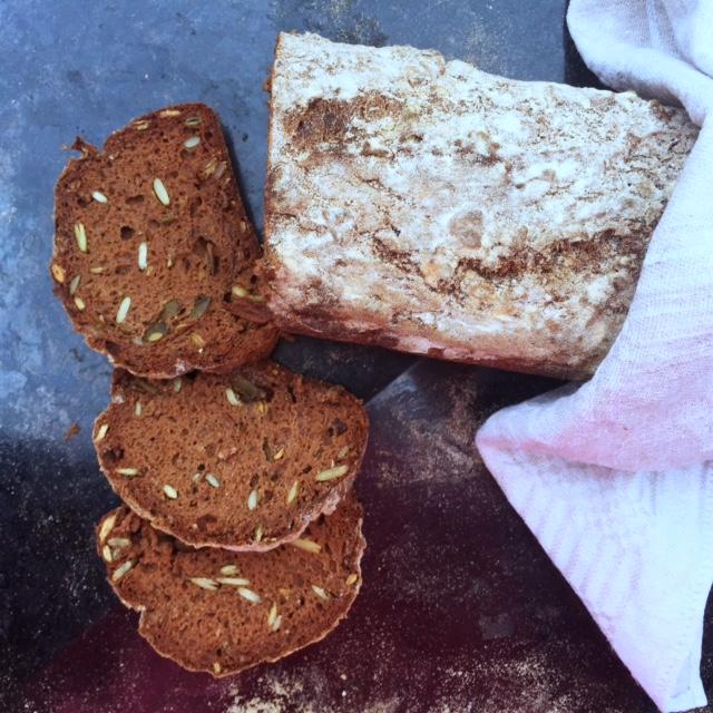Glutenfri Tefflimpa (mjölkfri bikarbonatsbröd)1