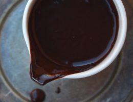 Chokladsås - mjölkfri, utan vitt socker