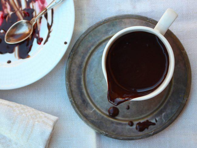 Chokladsås (mjölkfri, utan vitt socker)