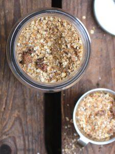 glutenfri hälsogrötmix med pepparkakskryddor