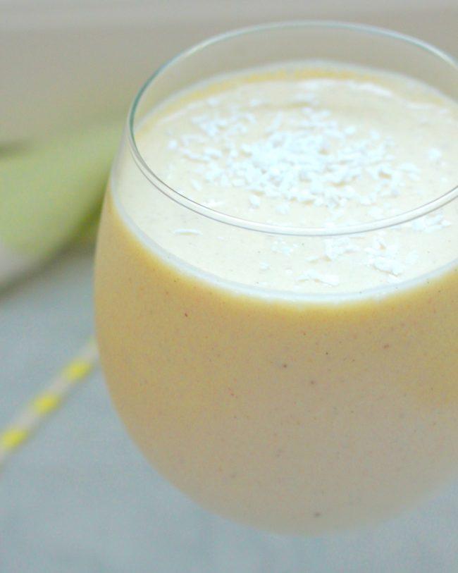 pina colada smoothie, raw mjölkfri
