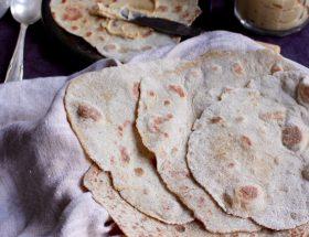 Quinoa chapati (glutenfritt, vegan)
