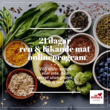 21 dagar ren och läkande mat - onlineprogram
