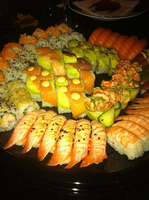 24+4 Franske oste, pølser, sushi og specialiteter